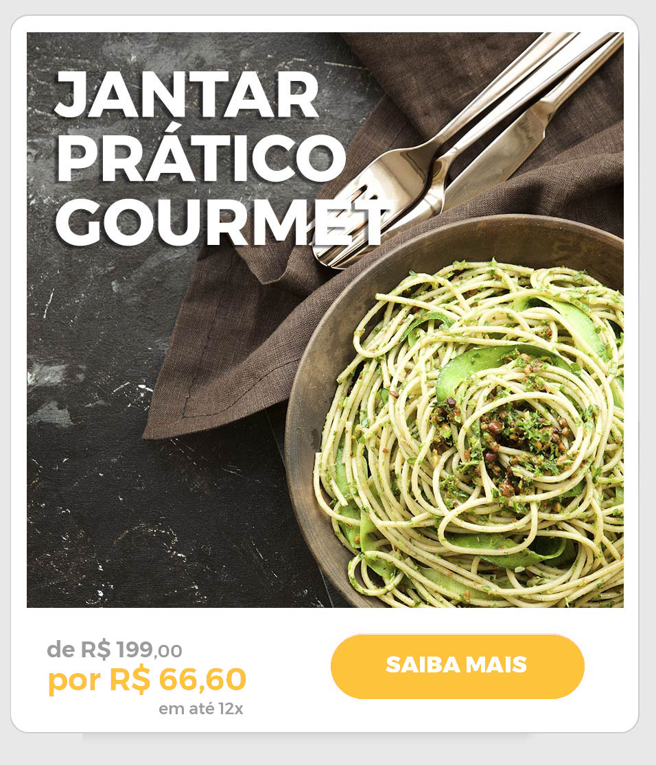 Jantar Gourmet Low Carb